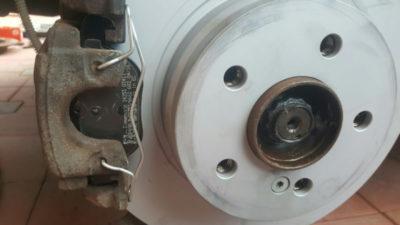 замена задних тормозных колодок сузуки гранд витара