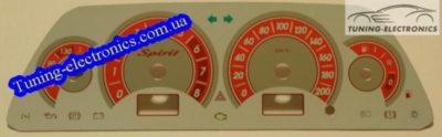 панель приборов ваз 2110 описание