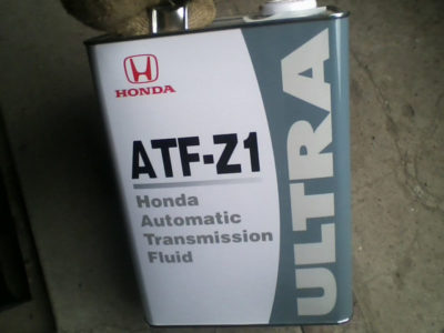 хонда фит замена масла в вариаторе