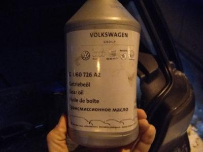 замена масла в двигателе фольксваген