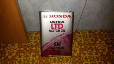 замена масла хонда срв