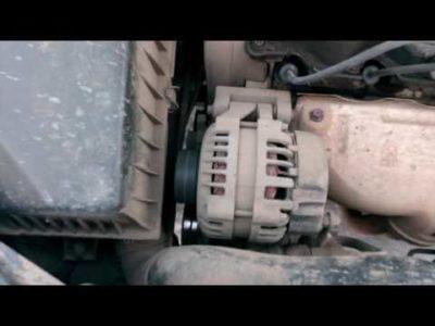 замена ремня генератора чери амулет