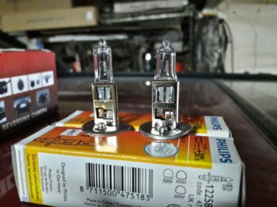 какие лампы стоят в фарах форд фокус 3