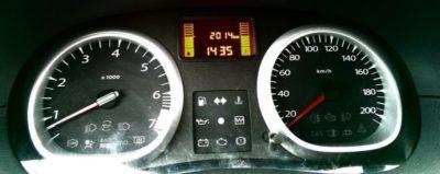 рено дастер датчик скорости