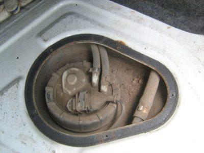 как почистить топливный бак