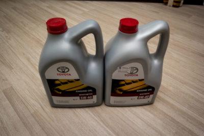 какое масло лить в тойоту