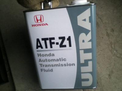 замена масла в вариаторе хонда