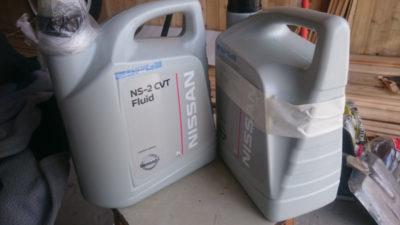 ниссан х трейл т31 замена масла в вариаторе