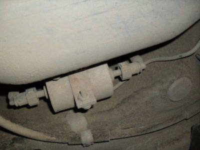 замена топливного фильтра лада калина