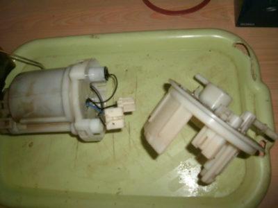 киа рио замена топливного фильтра